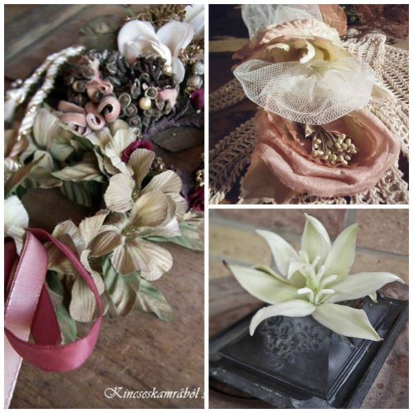 Kincseskamrából_selyemvirágok